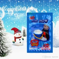 Wholesale Best Christmas Gifts Magic Prop DIY Instant Artificial Snow Powder Simulation Fake Snow for Party Christmas Decoration H01530