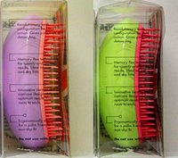 Wholesale 300pcs Professional Salon Elite Tangle Detangling Hair Brush HairBrushes Combs TT Brand by Teezer Assorted Colors