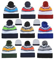 Wholesale Sports caps beanies hats American Football team Beanies Newborn Sports Beanie Knitted Hats mix order hats album offered
