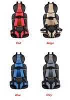 Wholesale Hot Selling Portable Baby Car Seats Child safety Chair infant Car Seat Protect baby colors ZY04
