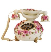 antique viola - Novelty Viola Tricolor Wired Antique Telephone