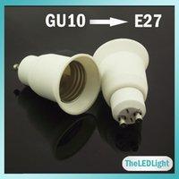 adapter e27 to gu10 - 10PCS GU10 to E27 Adapter Socket Holders Converter GU10 to E27 For LED Lighting Bulbs