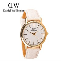 Wholesale Daniel Wellington Watches Women Dress Watch PU Leather Wristwatches DW Casual Analog Quartz Clock Relogio Feminino Reloj Mujer