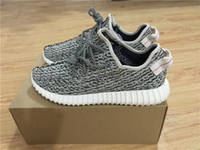 flat light - Discount Yeezy Boost Turtle Dove Running Shoes yeezy shoes Cheap Kanye West x Sports shoes mens sneakers women YEEZY BOOST