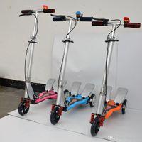 all'ingrosso monopattino-A pedale per bambini Scooter Scossa di potenza del motorino pieghevole per bambini Sport e tempo libero Biciclette Giocattoli Balance Biciclette all'ingrosso