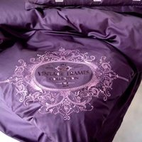 adult king crowns - Davebella Noble Purple Cotton Piece Crown Bedding Sets Exquisite Embroidery Bed Sets Factory Supply Home Texitles Queen King Size