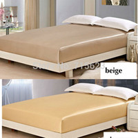 Wholesale color M M Seamless SILK FITTED SHEET MATTRESS COVER SIZE cm cm cm