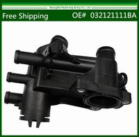 Wholesale Drop shipping New Thermostat Housing Water Flange For VW Bora Golf cc cc BA order lt no track