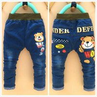 color jeans - Kids Trousers Baby Leggings Shorts Girl Summer Leggings Tights Kids Baby Girls Cartoon Jeans Pants Yeas Old Children Jeans Trousers Kids New
