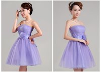 low price dresses - 2015 Charming Strapless lace up pleats with ribbon bow Flycool low price cheap evening dress cocktail party dress homecoming dress PR001