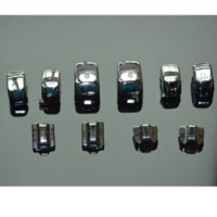 Wholesale One Set Chrome Hand Control Switch Housing Buttons Cap Kit Fits For Harley Davidson switch push