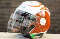 shoei helmets - HJC half Motorcycle helmet arai CIRUS LUPIN HJC Half helmet shoei New pattern half helmet