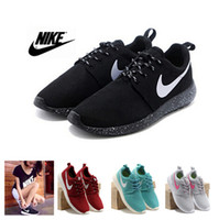 athletic shoes for men - Nike Roshe Run Running Shoes for Men Women All Black White Breathable Roshe Runs Athletic Male Female Sport Sneakers Size