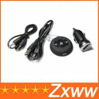 Wholesale Bluetooth Wireless Music Receiver Car Stereo Audio Adapter Handsfree Speakerphone Car Kit Built in Li Battery H D5352A HZ