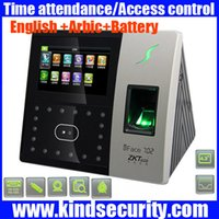 Wholesale Arbic and english access control system TCP IP face time attendance iface702 fingerprint time attendance face time clock finger time clock