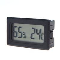 Wholesale Practical Temperature Instrument Mini Digital LCD Thermometer Hygrometer Humidity Temperature Meter Indoor