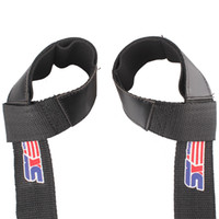Wholesale 2pcs Sport Hand Wrist Brace Bar Support Gym Strap Belt Weight Lifting Barbell Wrap Body Building Grip