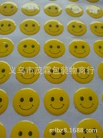 Wholesale Manufacturers of crystal Disu stickers reliable quality round smiley stickers