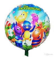 backyardigans birthday party - Balloon Birthday Party Decoration The Backyardigans balloon Baby Kids Cartoon Balloons Gift quot