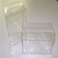 Wholesale Transparent favor clear plastic PVC gift promotion box wedding gift idea baby shower candy box favors