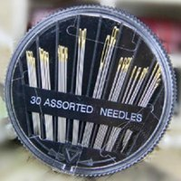 Wholesale Hand Sewing Hand Sewn Needles Big Gold Eye DIY Needles Home Upholstery Art New Fashion Hot sell Creative Design Shipping From China