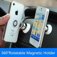 Wholesale Universal Magnetic Holder for Iphone Car Holder For Samsung Stand Display Support For Lenovo GPS Accessories Mobile Phone Holder