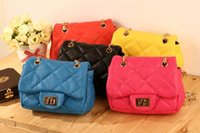 Wholesale 14 Colors Fashion New Children s PU Leather Bags Girl s Mini Purses Kid s Bag Kids Small Designer Shoulde Bags Women Mini Bag