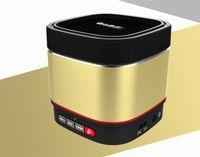 beatbox portable - New Arrival B1000 Bluetooth Wireless Stereo Mini Speakers Metal Beatbox Portable HIFI Music Player Car Handsfree Mic Sound Box TF Card Slot
