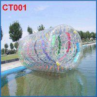 al por mayor zorbing zorb-2015 Nuevo llegado PVC Caminar sobre el agua nave de la bola de Zorb Balones Zorbing agua ballsl a través de DHL