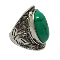 best antique engagement rings - Best Price Fashionable Women Men Tibetan Silver Turquoise Ring Antique Womens Turquoise Ring Hot Selling Popular