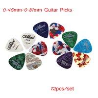 alice guitar picks - Professional Alice mm mm Guitar Picks Guitar Plectrums Celluloid set Retail I660