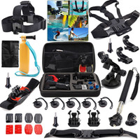 Wholesale 31 in Professional Kit Accessories Bundle With Carry Bag For GoPro Hero Xiaomi Yi Camera SJcam Sport Camera Travel Storage collection bag