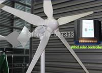 Wholesale 1000W V Wind Generator Turbine Windmill Electromagnetic Brake Function w Wind Solar Controller W Wind W Solar