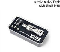Horizon Arctic Turbo Réservoir Turbo RDA Vaporisateur 3.5ml Arctic Turbo Sub Ohm Réservoir VS SMOK TFV4 uwell couronne de réservoir