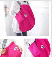 Wholesale High Quality Nylon Foldable Women Travel Bags Large Capacity Luggage Travel Bags Backpacks Travel Bag