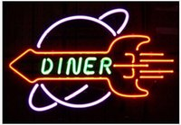apollo lamps - Revolutionary Neon Christmas Gifts Rocket Diner Apollo Space age wall lamp Neon Beer Signs v02 quot x15 quot Available