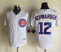 Wholesale Discount Chicago Cubs baseball jerseys Schwarber Castro Bryant Lester jerseys top quality man size M XL