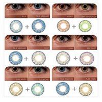 Wholesale High Quality fresh contact lenes Color Lens colors tone Colored Contact Lenes colored fresh Lens pair Wholesales DHL Free