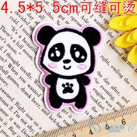 bead embroidery tool - 2015 Accurate Printing Bead Embroidery For Pingente Europe New Cartoon Fashion Cloth Patch Stickers Affixed Adhesive Hot Paste