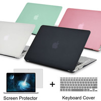 Wholesale NEW Rubberized Frosted Matte Hard Shell Laptop Cases Full Body Protector Case Cover For Apple Macbook Pro quot quot inch