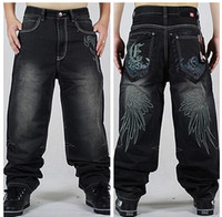 baggy jeans shorts - Men s clothing washing board shorts plus size hip hop dance embroidery Baggy jeans