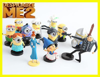 Wholesale 2016 New cartoon Despicable me minions ME2 toys figure toy cm cute children s American movies christmas gift for kid minions
