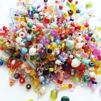 beading seed beads - Multi Color Multi Shape Glass Seed Beads Beading Supplies for Jewelry Making