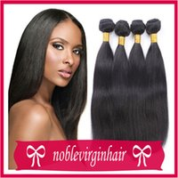 Wholesale 8A brazilian virgin hair straight bundles human hair weave virgin brazilian straight hair weft in stock