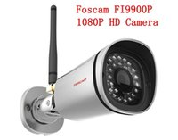 Wholesale Original Waterproof HD P Foscam P2P FI9900P Wireless Internet Day and Night Vision IP Network Camera
