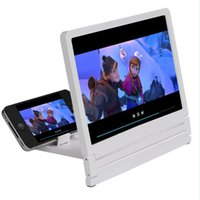 Wholesale 2015 Newest Mobile Phone Screen Magnifier Bracket Times Enlarge stand for Smartphone Portable for Use