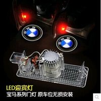 bmw logo - 2X LED Car Door Welcome Light Laser Car Door Shadow led Projector Logo For BMW Series X3 X5 M3 M5