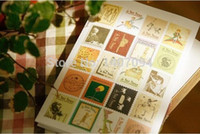 Wholesale 4pcs of Little prince restoring ancient ways folding stamps stickers dress up stickers with order lt no track