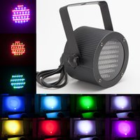Wholesale US Stock W RGB Channel LED Stage Lighting Par Light DMX voice activated Laser Projector DJ show Disco Lights for Party Club