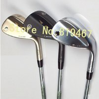 Wholesale Champagne SM5 golf wedges loft come with steel shaft right hand golf clubs wedge